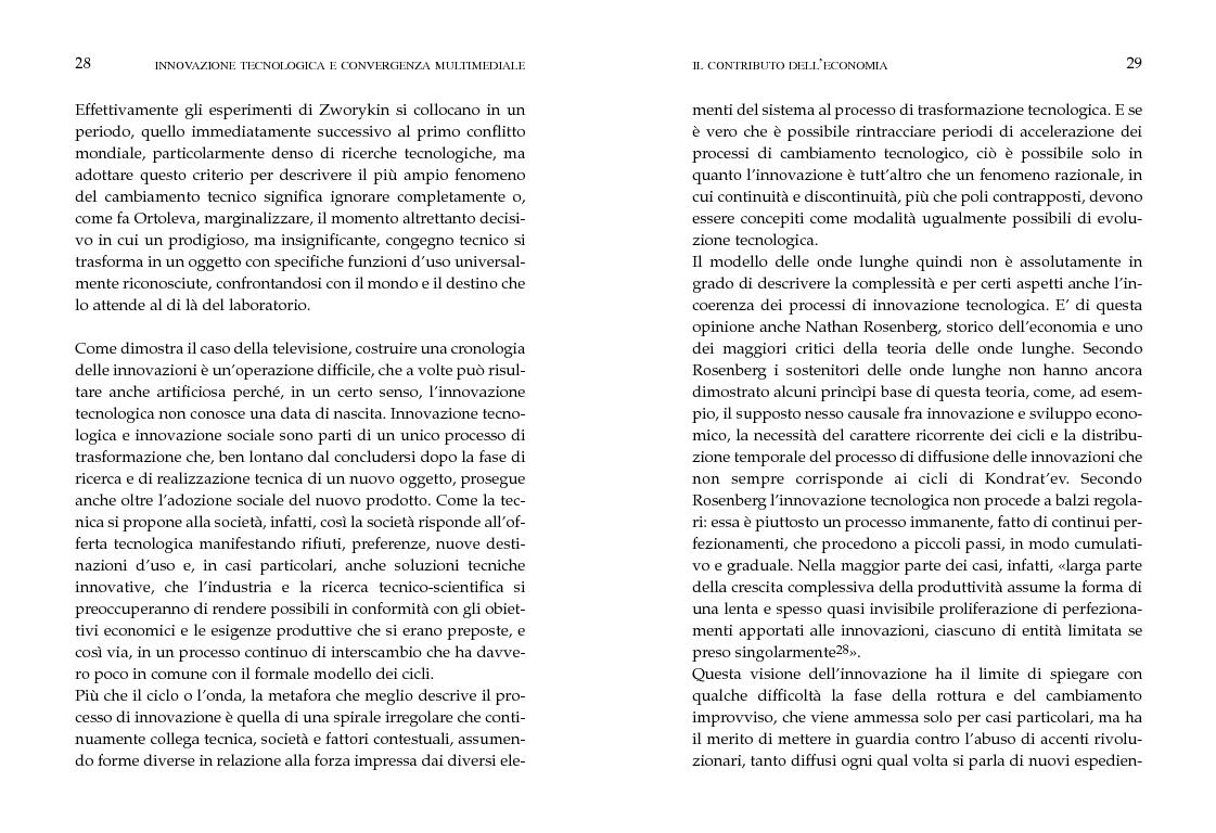Anteprima della tesi: Innovazione tecnologica e convergenza multimediale. Oggetti e usi sociali., Pagina 11