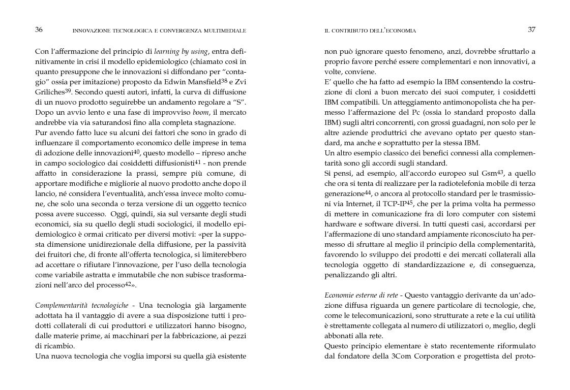 Anteprima della tesi: Innovazione tecnologica e convergenza multimediale. Oggetti e usi sociali., Pagina 15