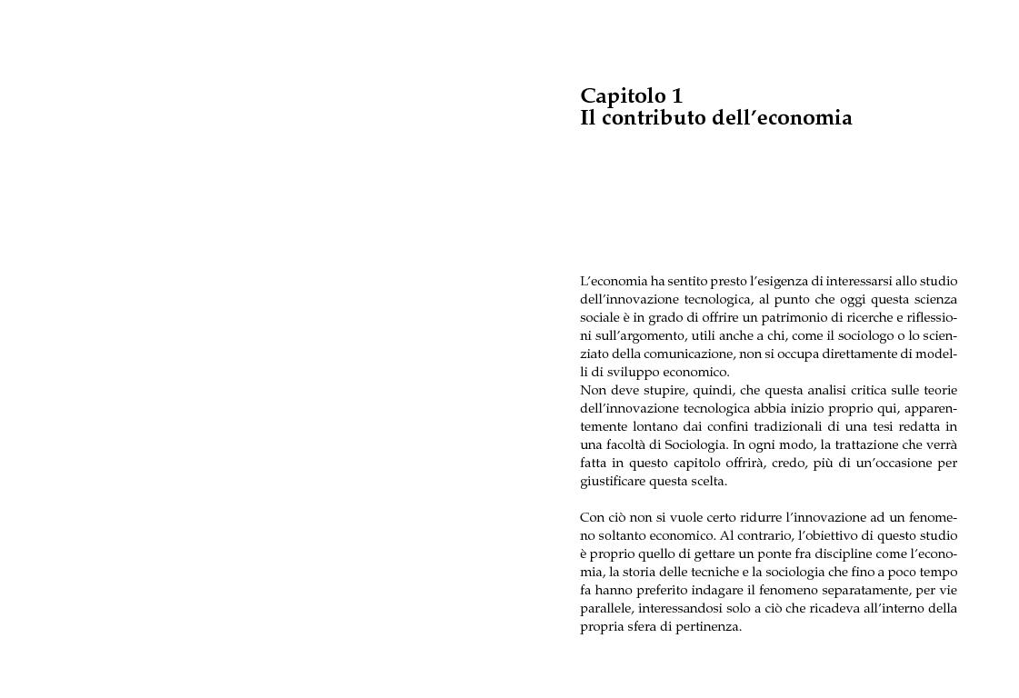 Anteprima della tesi: Innovazione tecnologica e convergenza multimediale. Oggetti e usi sociali., Pagina 5