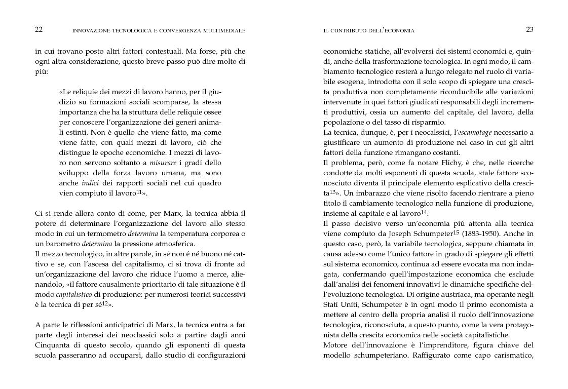 Anteprima della tesi: Innovazione tecnologica e convergenza multimediale. Oggetti e usi sociali., Pagina 8