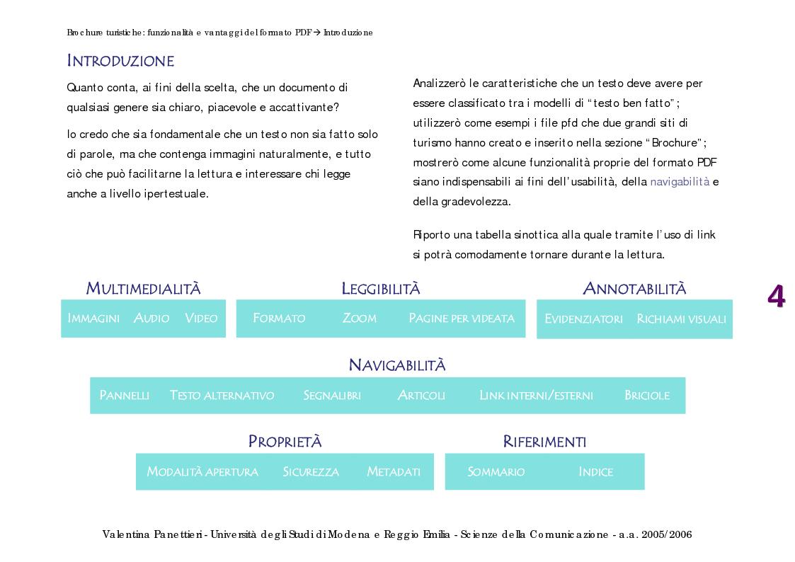 brochure turistiche funzionalità e vantaggi del formato pdf