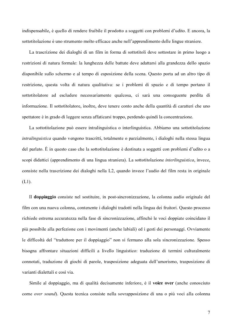 Anteprima della tesi: Tradurre per il cinema: Moskva di V. Sorokin, Pagina 4