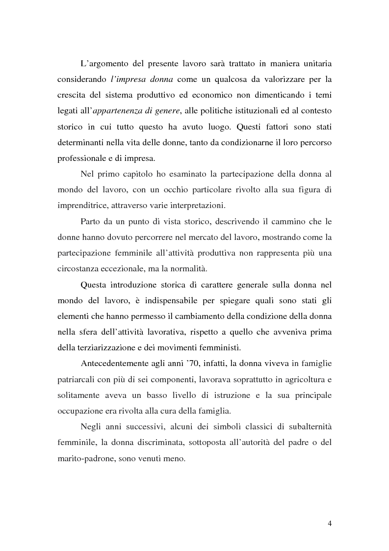 Anteprima della tesi: L'imprenditoria femminile: storia, politiche e motivazioni, Pagina 2