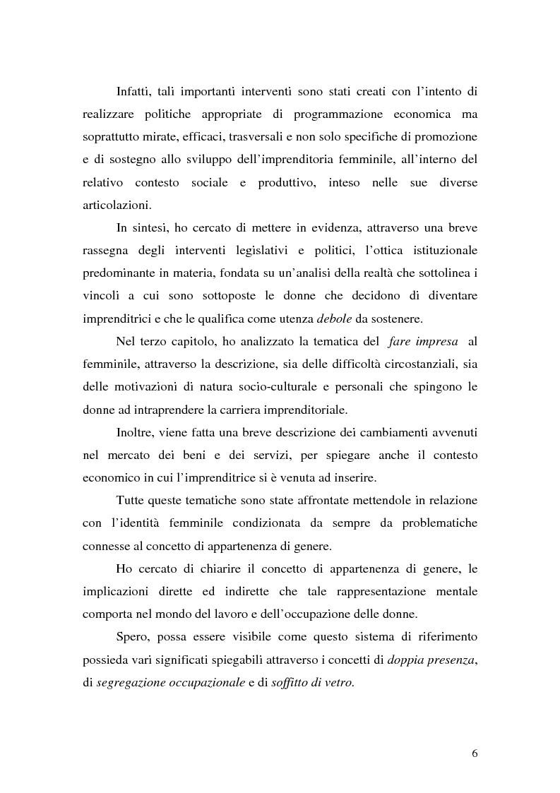 Anteprima della tesi: L'imprenditoria femminile: storia, politiche e motivazioni, Pagina 4