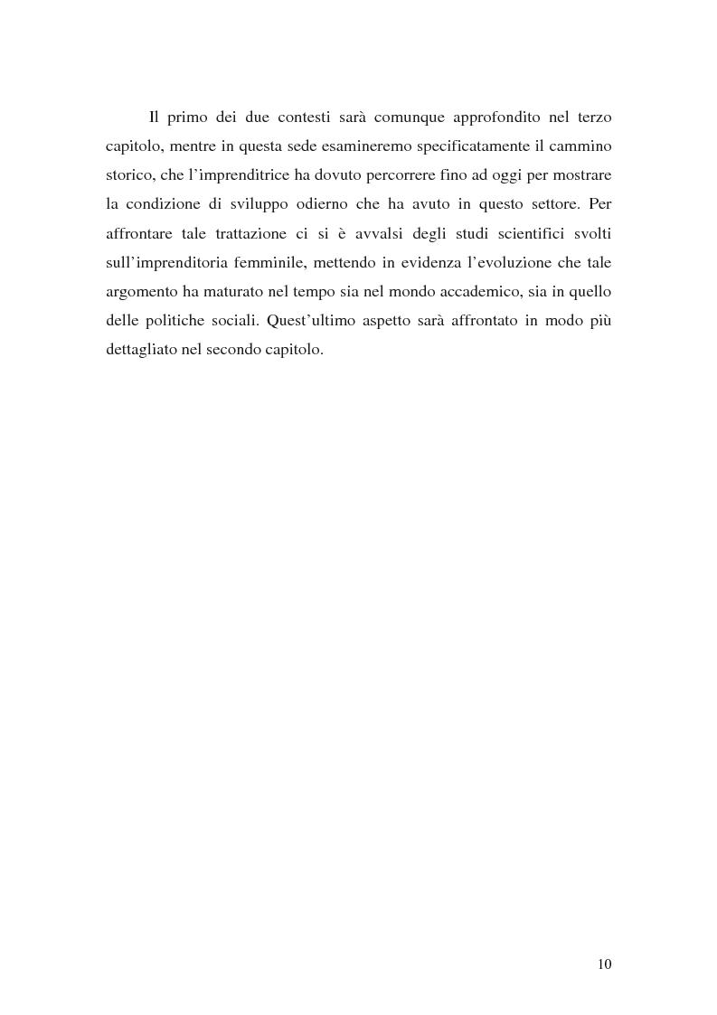 Anteprima della tesi: L'imprenditoria femminile: storia, politiche e motivazioni, Pagina 8