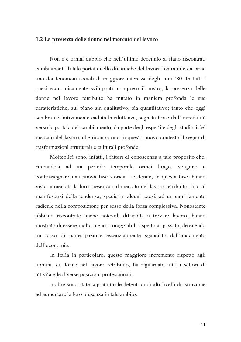 Anteprima della tesi: L'imprenditoria femminile: storia, politiche e motivazioni, Pagina 9