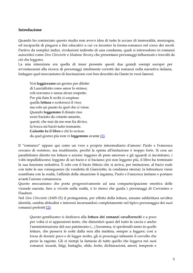 Anteprima della tesi: Il romanzo corruttore, Pagina 1