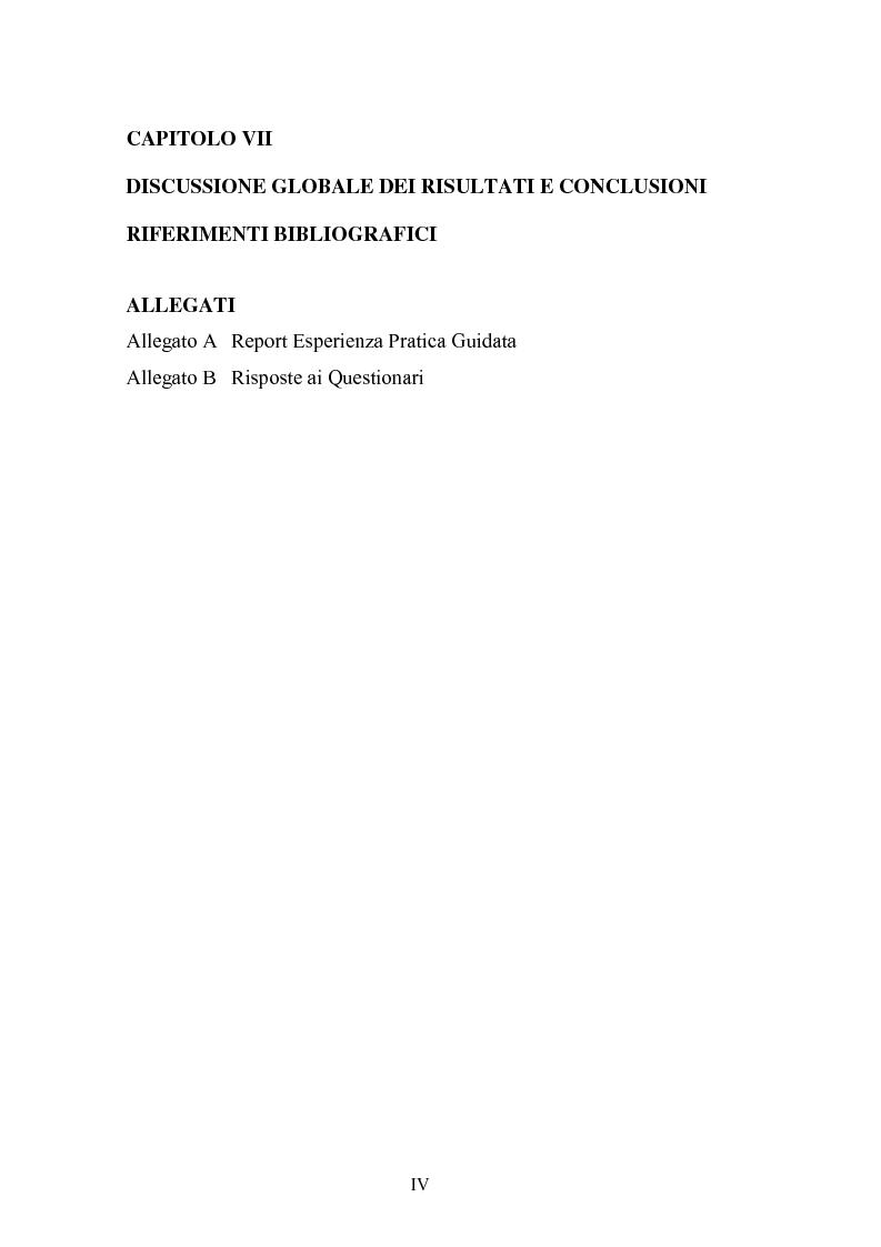 Indice della tesi: La Social Dreaming Matrix: un'indagine conoscitiva sulla funzione sociale del sogno, Pagina 4