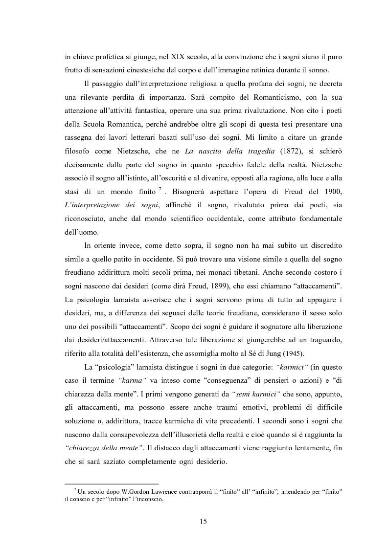 Anteprima della tesi: La Social Dreaming Matrix: un'indagine conoscitiva sulla funzione sociale del sogno, Pagina 15