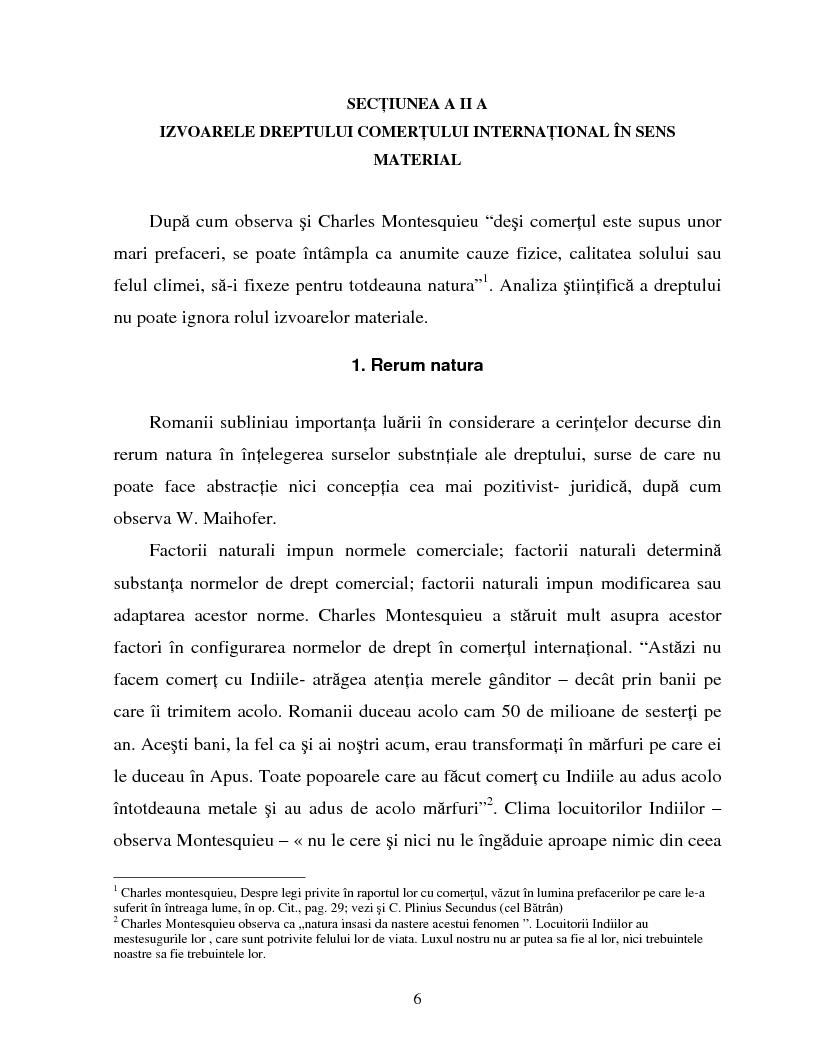 Anteprima della tesi: Izvoarele dreptului comertului international, Pagina 3
