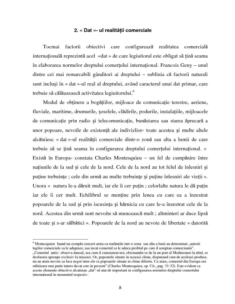 Anteprima della tesi: Izvoarele dreptului comertului international, Pagina 5