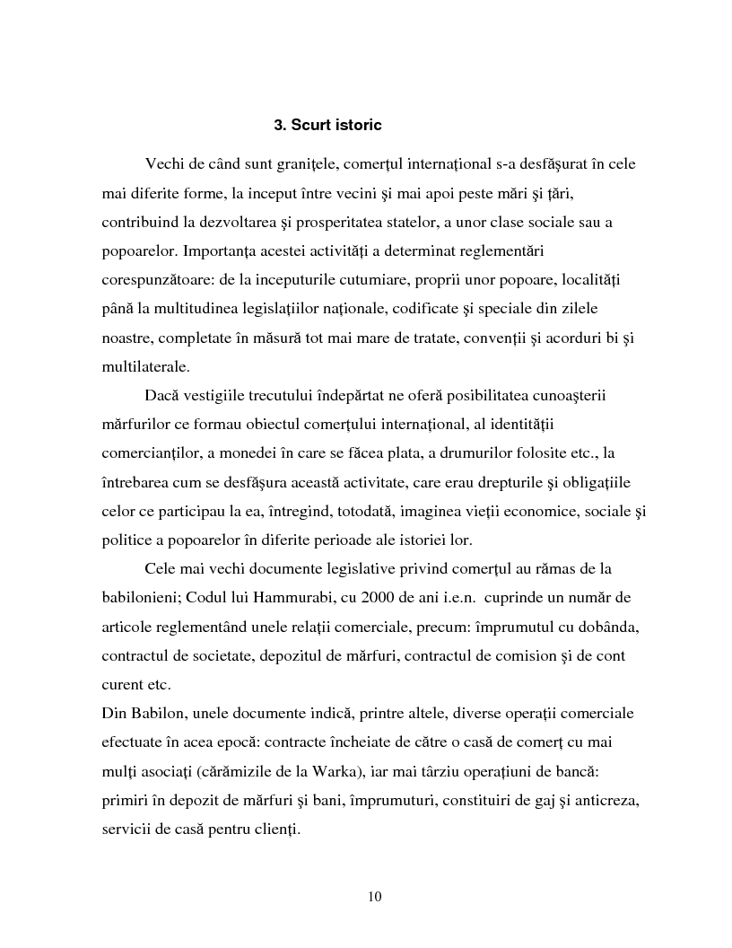 Anteprima della tesi: Izvoarele dreptului comertului international, Pagina 7