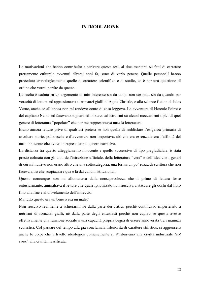 Anteprima della tesi: Idiosincrasie mediali. Intellettuali e industria culturale tra neorealismo e neoavanguardia, Pagina 1