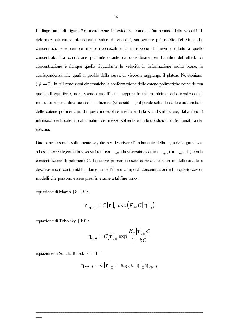 Anteprima della tesi: Viscosità di soluzioni acquose di polimeri: studio sperimentale di sistemi contenenti polietilenglicoli e/o destrani, Pagina 14