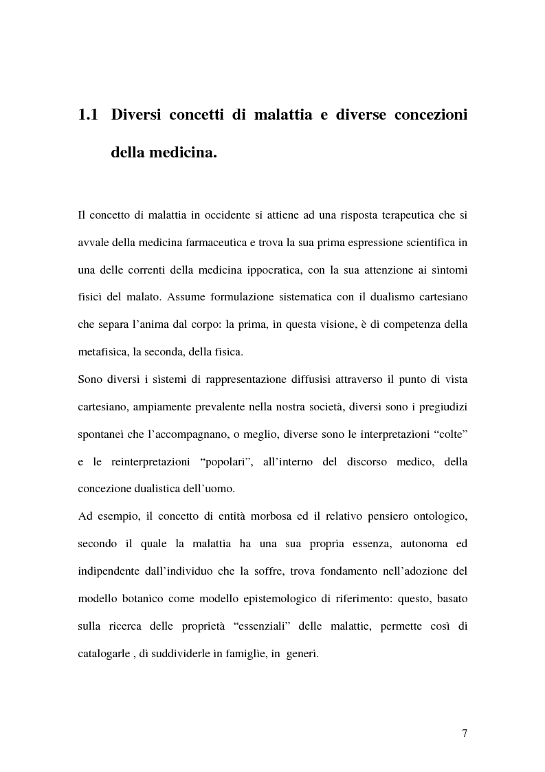 Anteprima della tesi: Consapevolezza nella salute, nella malattia e nel processo di guarigione, Pagina 7