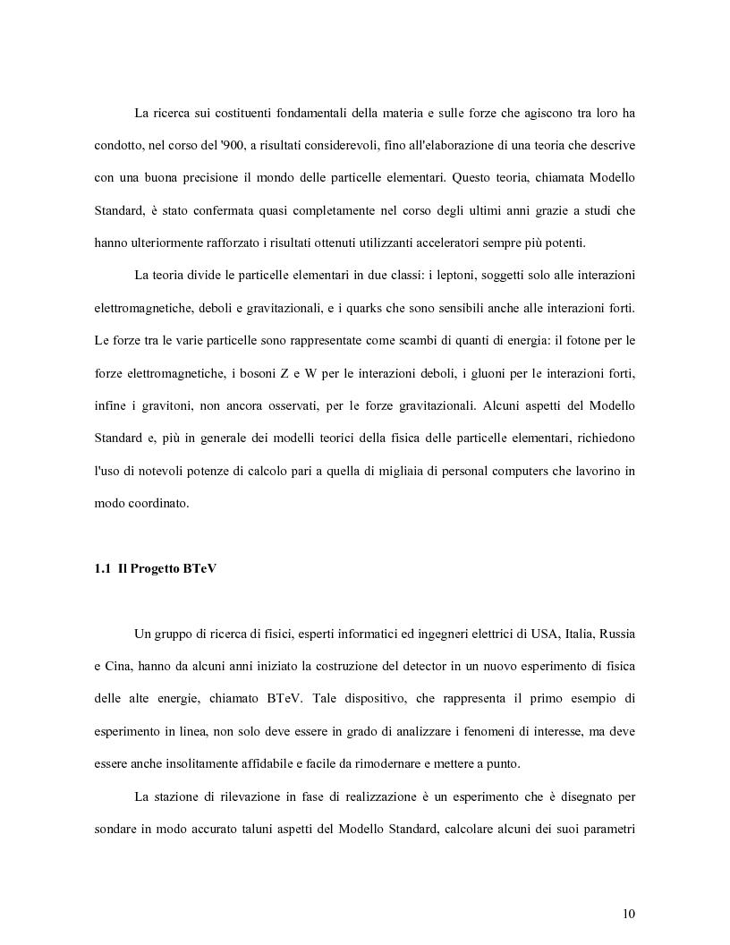Anteprima della tesi: Scelta dei materiali ed analisi strutturale per supporti di rivelatori di particelle dell'esperimento BTeV a FermiLAB (U.S.A.), Pagina 5
