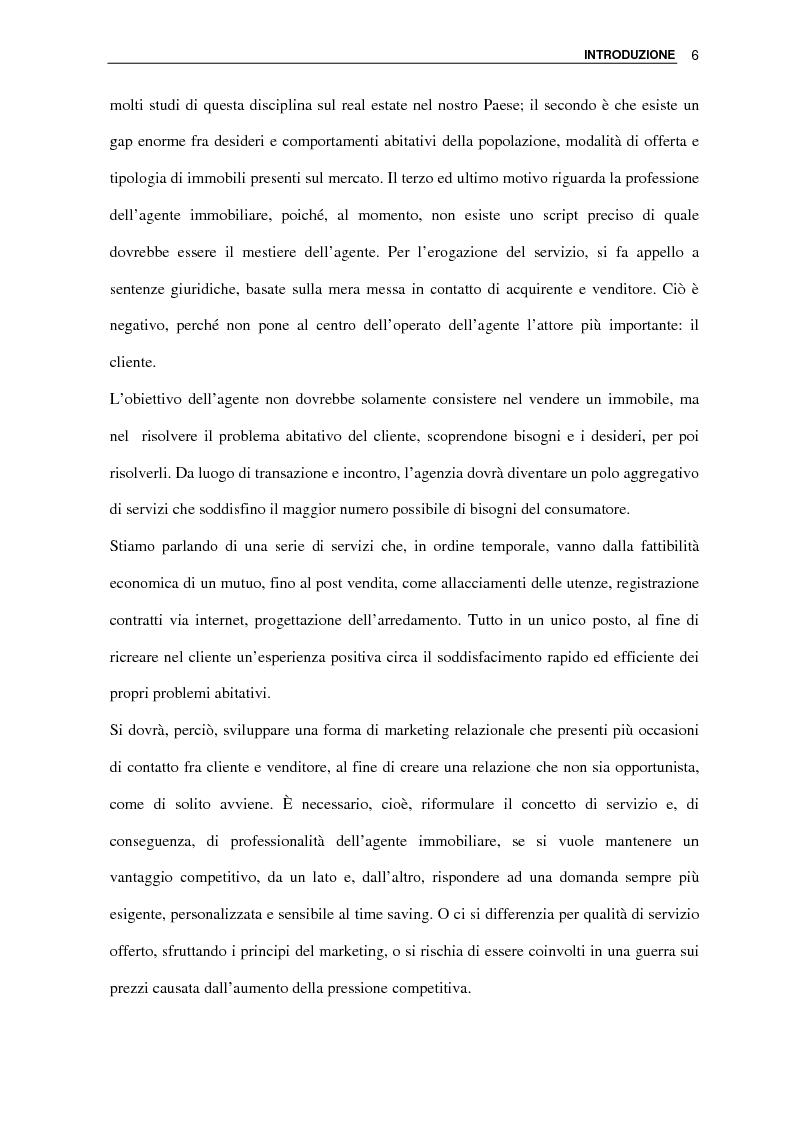 Anteprima della tesi: L'agenzia immobiliare del futuro: da luogo di mediazione a polo aggregativo di funzioni e servizi, Pagina 4