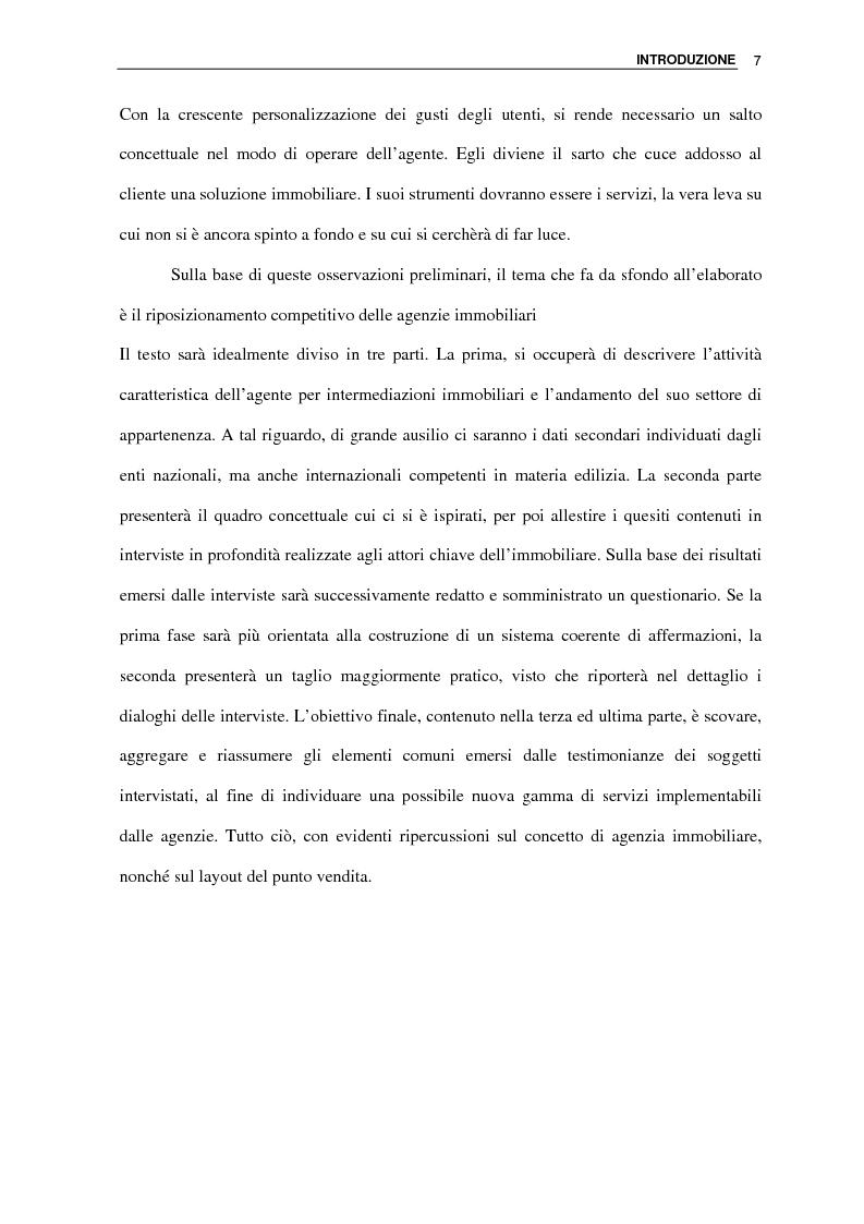 Anteprima della tesi: L'agenzia immobiliare del futuro: da luogo di mediazione a polo aggregativo di funzioni e servizi, Pagina 5
