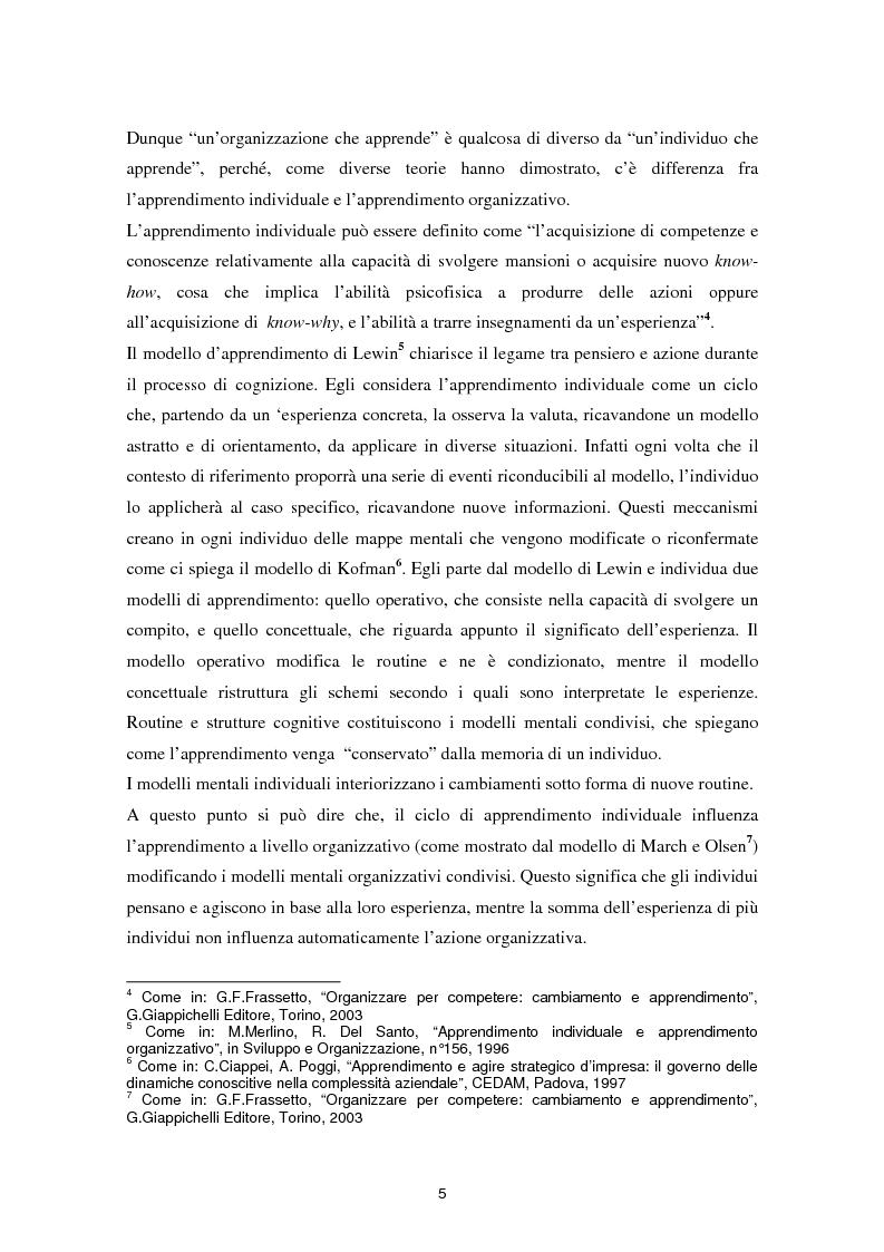 Anteprima della tesi: Il coaching come leva per l'apprendimento organizzativo, Pagina 4