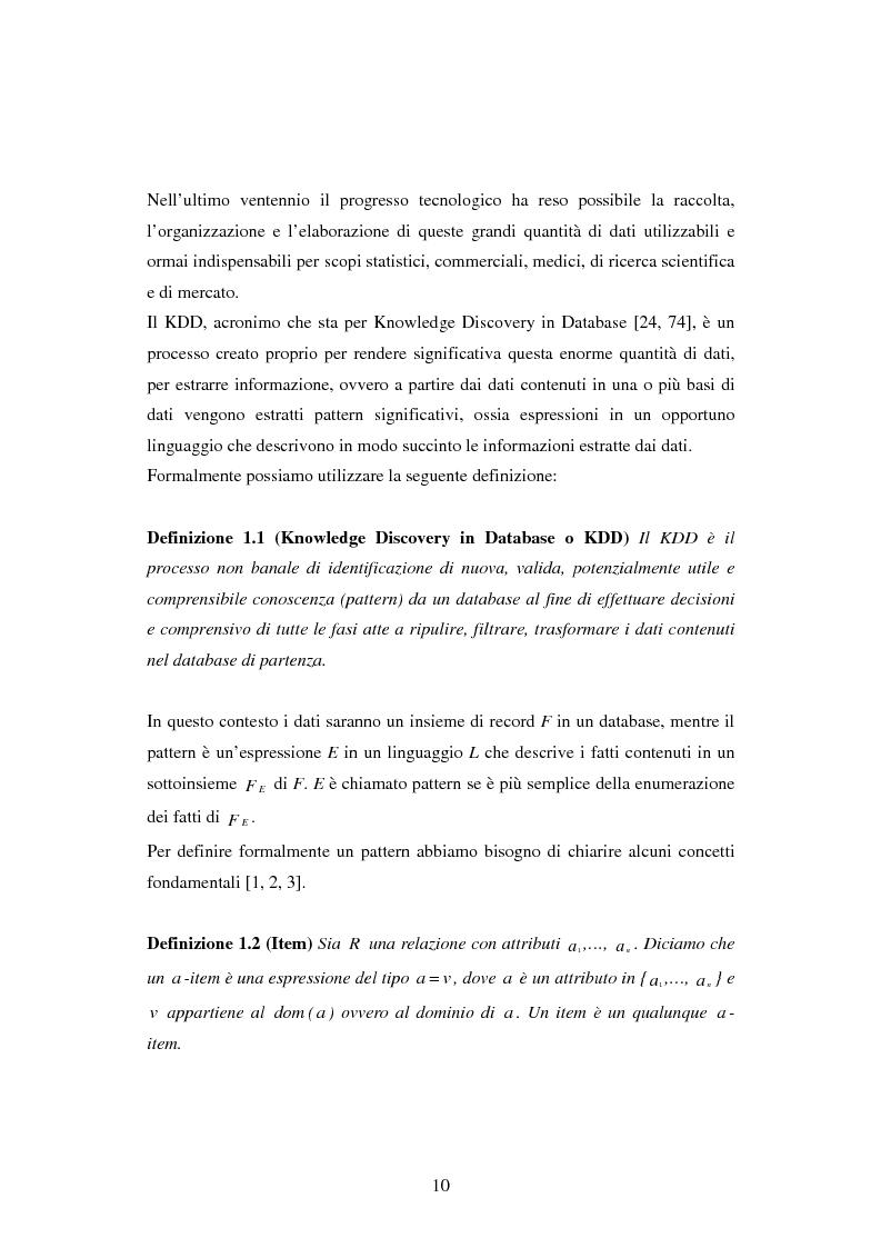 Anteprima della tesi: Protezione della privacy e prevenzione della discriminazione nel data mining, Pagina 8