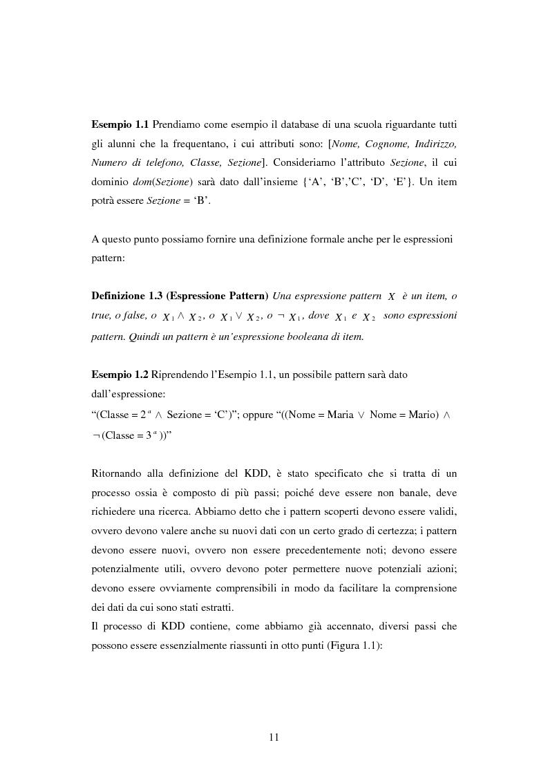 Anteprima della tesi: Protezione della privacy e prevenzione della discriminazione nel data mining, Pagina 9
