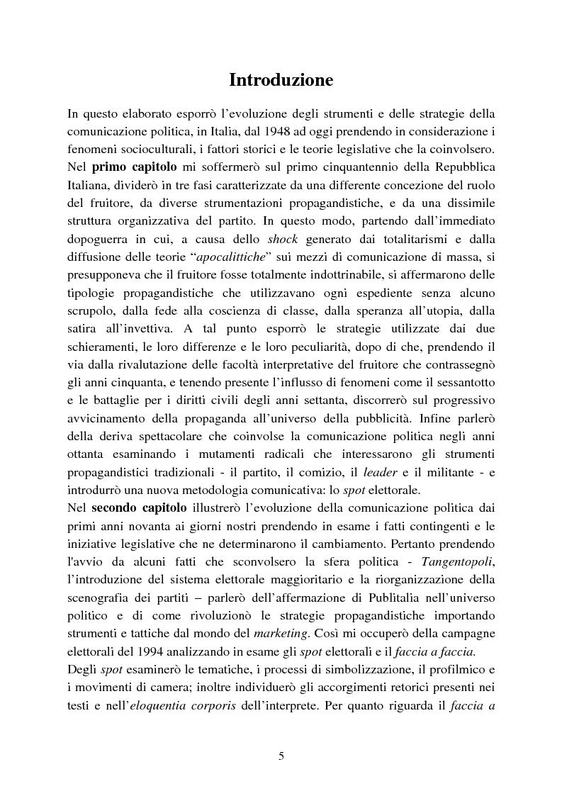 La comunicazione politica e le sue strategie di for Struttura politica italiana
