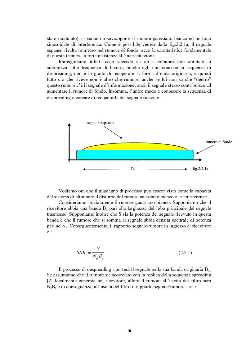Anteprima della tesi: Nuove sequenze di cifratura per sistemi ad accesso multiplo a divisione di codice dedicati alle comunicazioni radiomobili, Pagina 10