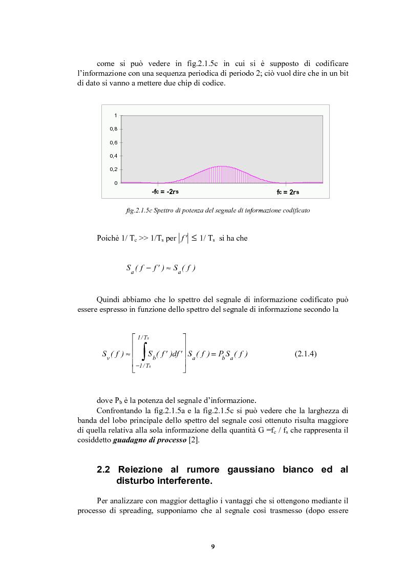 Anteprima della tesi: Nuove sequenze di cifratura per sistemi ad accesso multiplo a divisione di codice dedicati alle comunicazioni radiomobili, Pagina 9