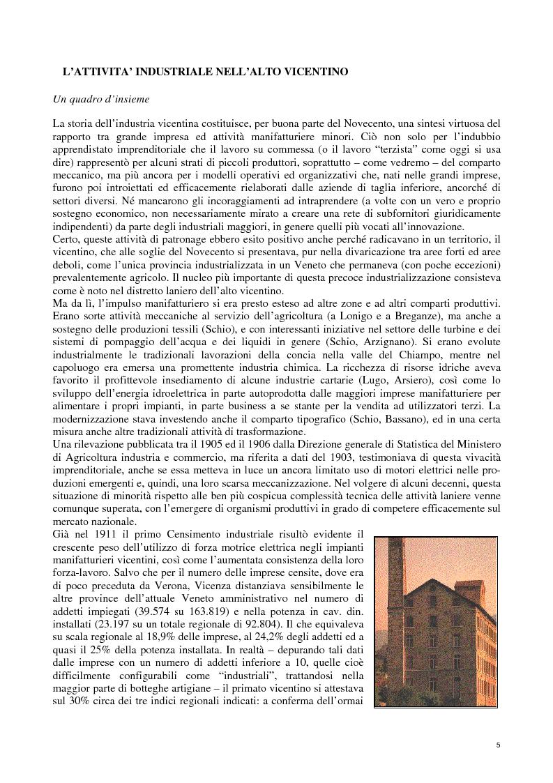 Anteprima della tesi: Lanerossi: quale eredità?, Pagina 3