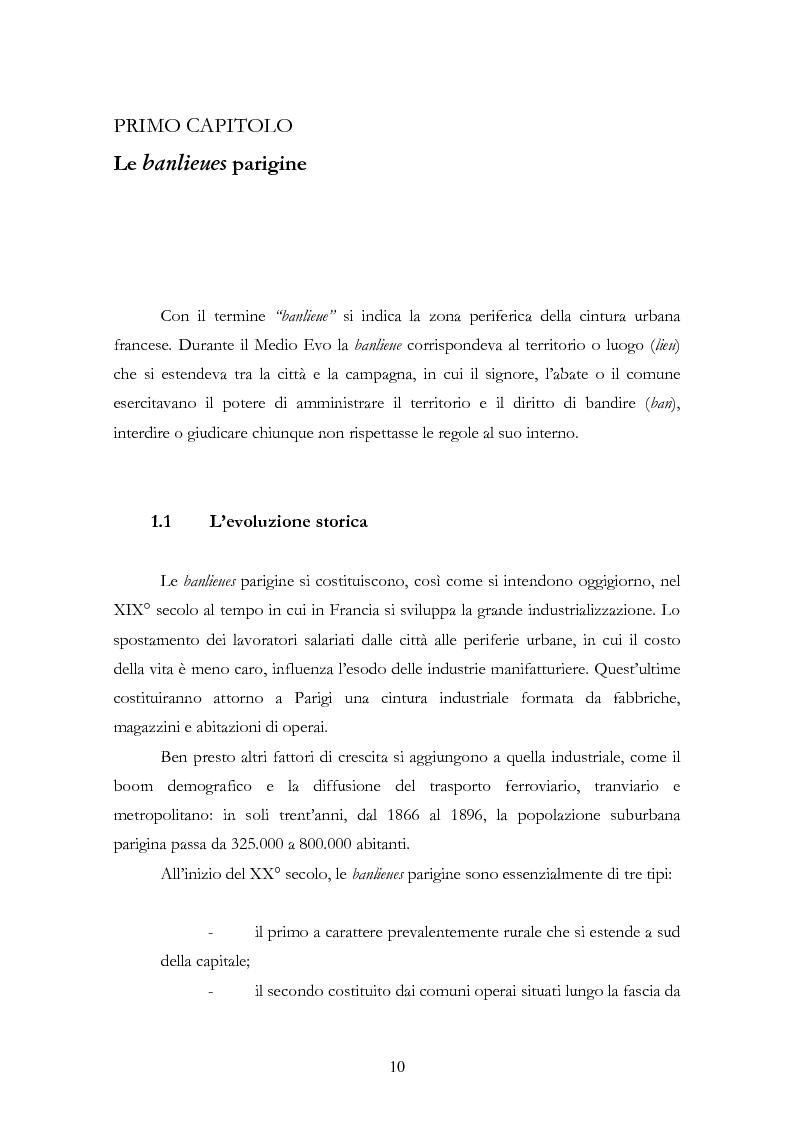 Anteprima della tesi: La rivolta del 2005 nelle banlieues francesi: analisi sociologica delle ragioni del conflitto, Pagina 4