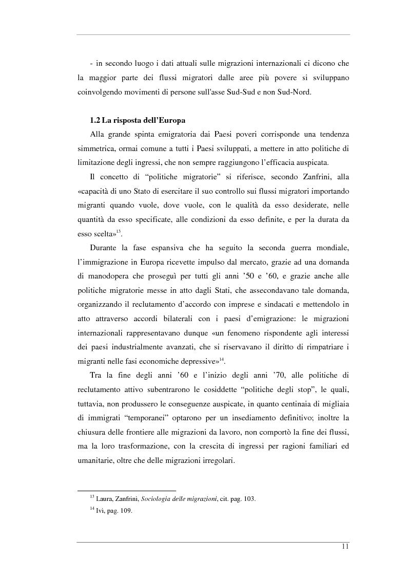 Anteprima della tesi: L'isola e il confine. I CPTA in Sicilia e il controllo dell'immigrazione., Pagina 11