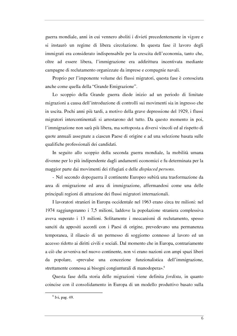 Anteprima della tesi: L'isola e il confine. I CPTA in Sicilia e il controllo dell'immigrazione., Pagina 6