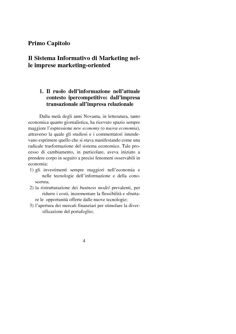 Anteprima della tesi: Il ruolo della Marketing Intelligence nell'e-commerce, Pagina 4