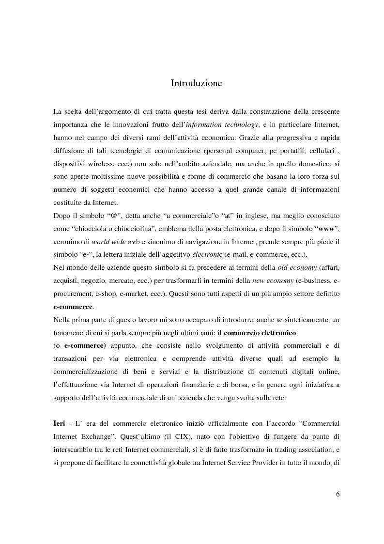 L'organizzazione della rete di vendita e lo sviluppo delle relazioni attraverso il commercio elettronico: il caso Ebay -...