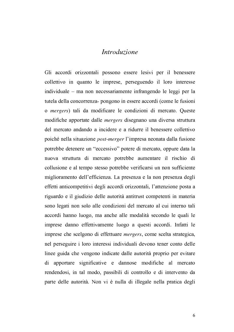 Anteprima della tesi: Accordi orizzontali: M&A e JV. Il caso Bombardier: analisi di una strategia, Pagina 1
