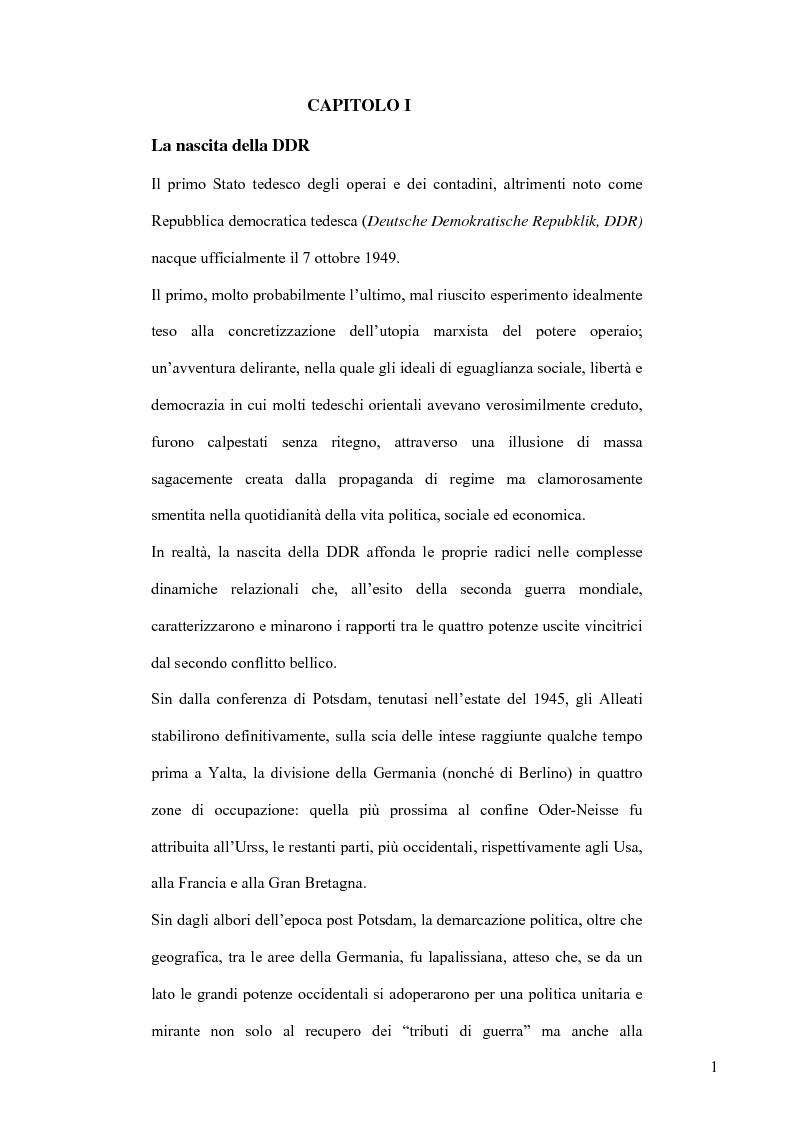Comunicazione e controllo: i rapporti deviati all'ombra del Muro. Analisi fenomenologica del regime socialista nell'espe...
