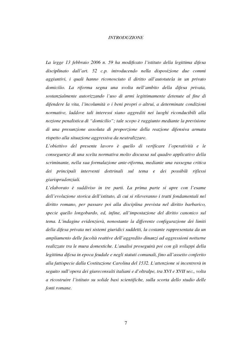"""La legittima difesa e la nuova fattispecie di """"autotutela in un privato domicilio"""" - La riforma dell'art. 52 c.p. ad ope..."""