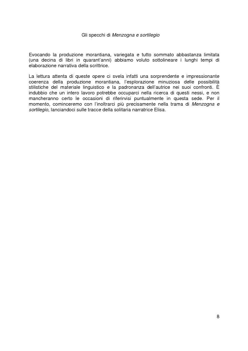 Anteprima della tesi: Gli specchi di Menzogna e sortilegio, Pagina 5