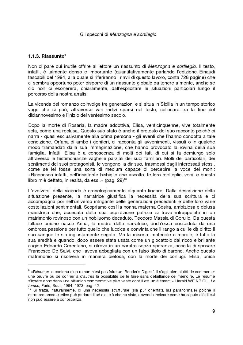 Anteprima della tesi: Gli specchi di Menzogna e sortilegio, Pagina 6