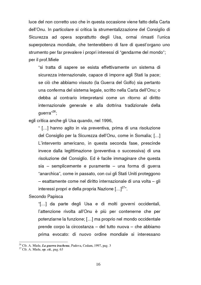 Anteprima della tesi: La riforma del Consiglio di Sicurezza delle Nazioni Unite, Pagina 15