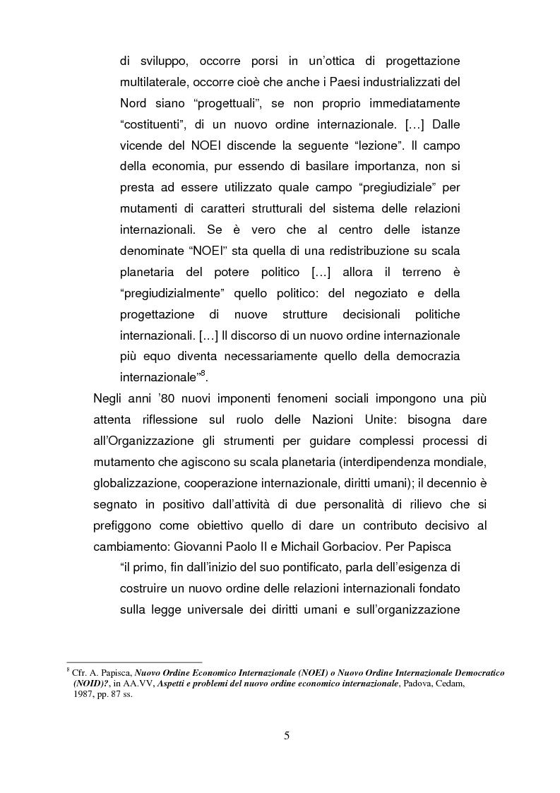 Anteprima della tesi: La riforma del Consiglio di Sicurezza delle Nazioni Unite, Pagina 4