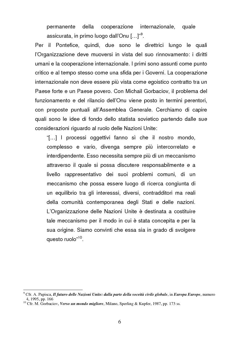 Anteprima della tesi: La riforma del Consiglio di Sicurezza delle Nazioni Unite, Pagina 5