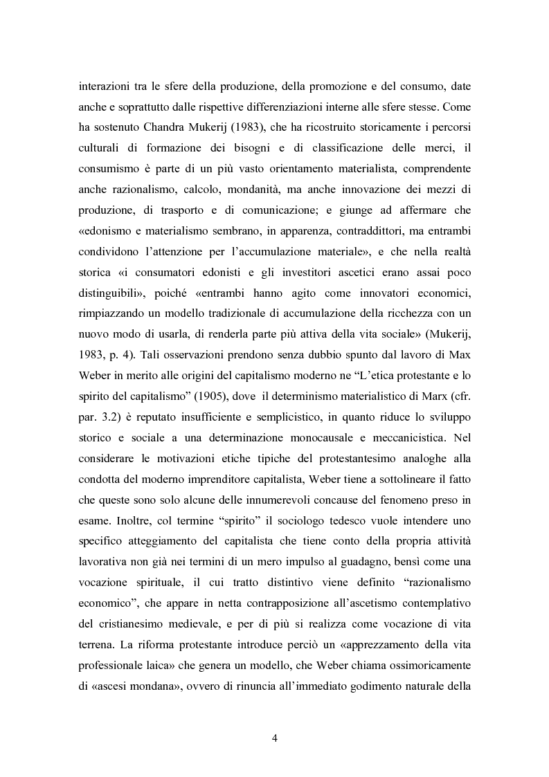 Anteprima della tesi: Comunicazioni simmetriche e asimmetriche nella società dei consumi, Pagina 2