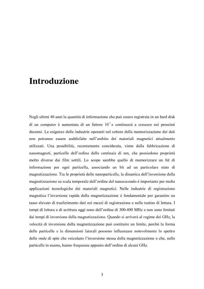 Anteprima della tesi: Calcolo della configurazioni magnetiche in nanoparticelle di forma triangolare, Pagina 1