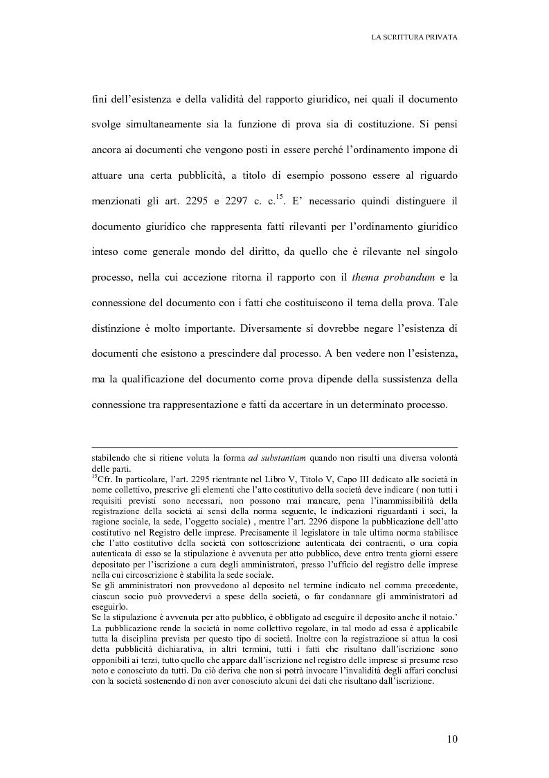 Anteprima della tesi: La scrittura privata, Pagina 8