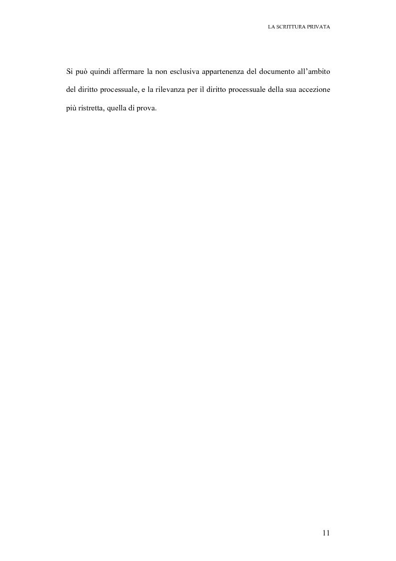 Anteprima della tesi: La scrittura privata, Pagina 9