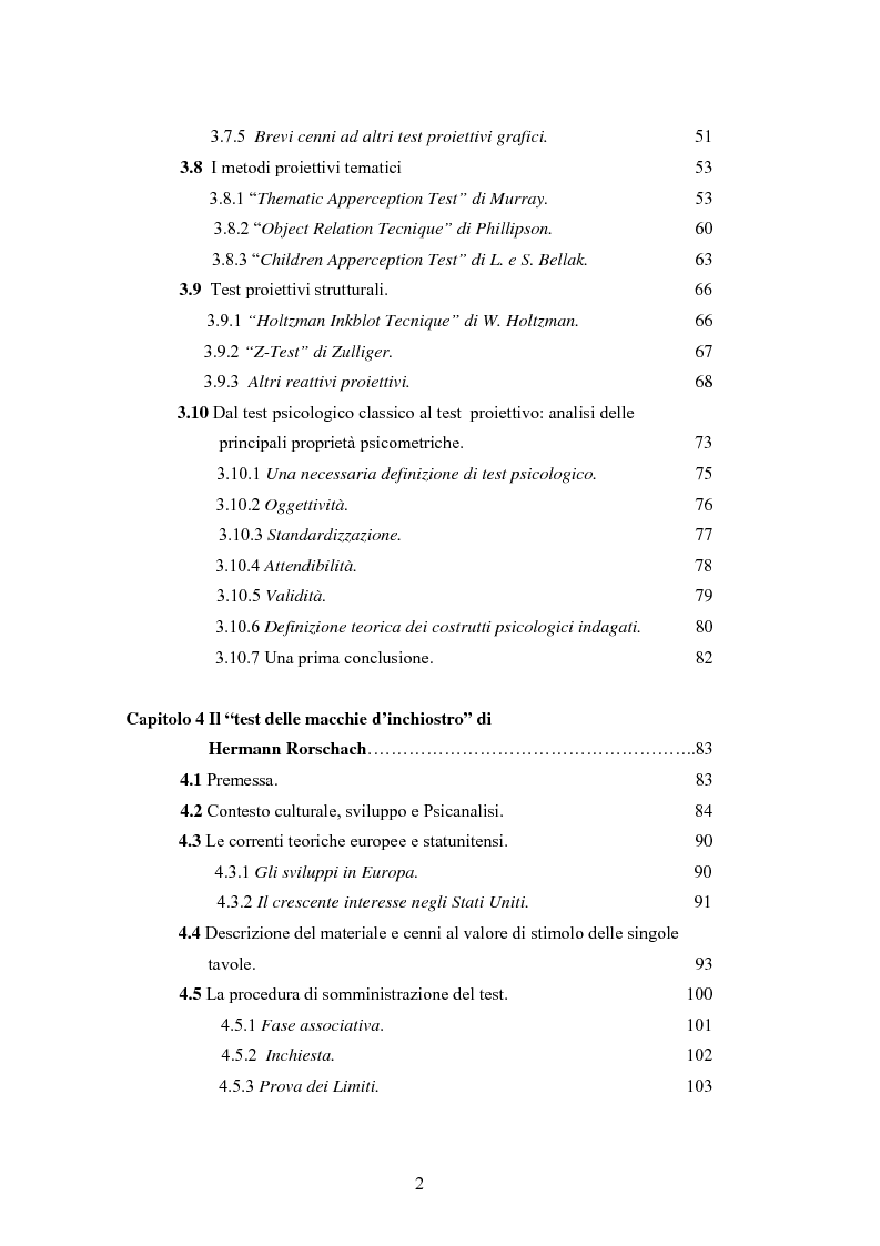 Il test di h rorschach un analisi critica delle caratteristiche psicometriche e della validit - Test di rorschach tavola 1 ...