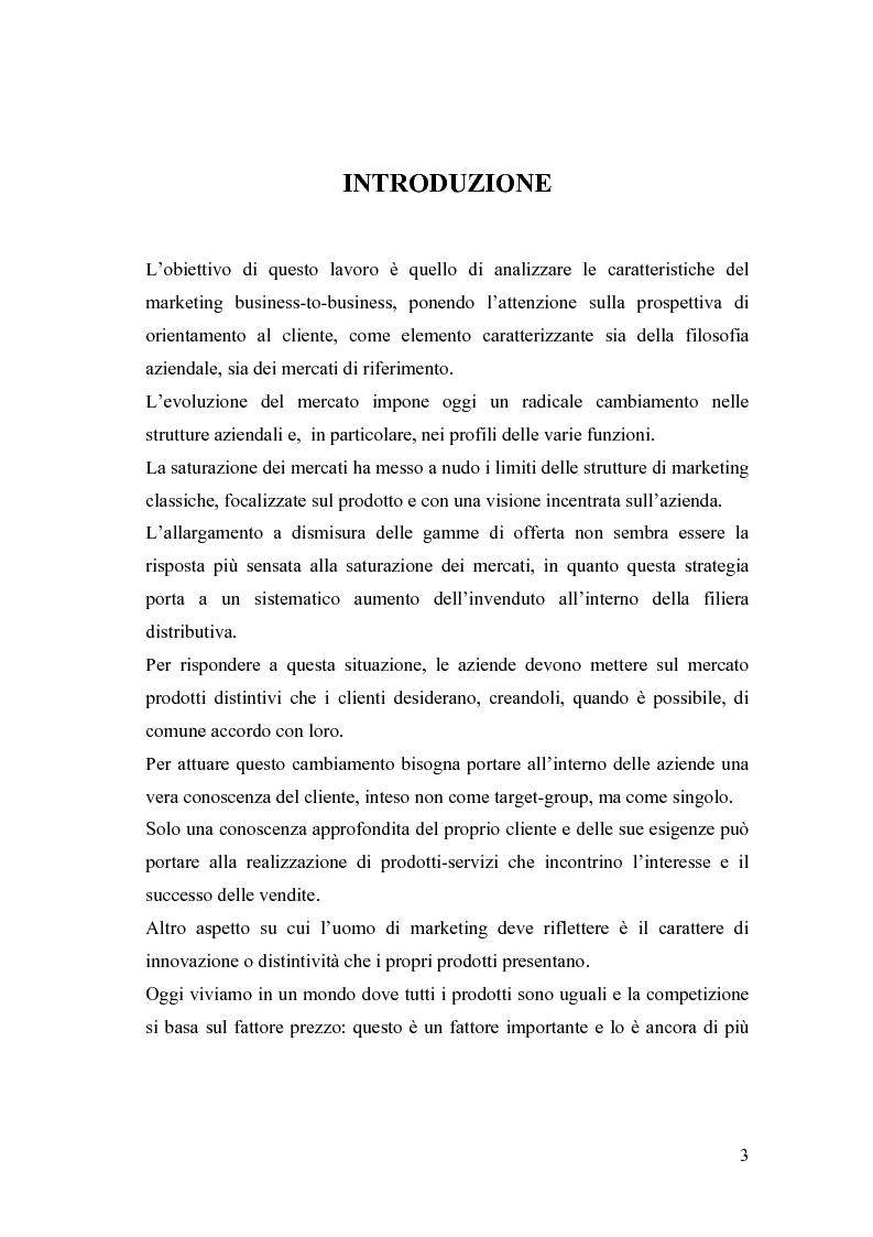 Anteprima della tesi: Le nuove frontiere del Marketing B2B, Pagina 1