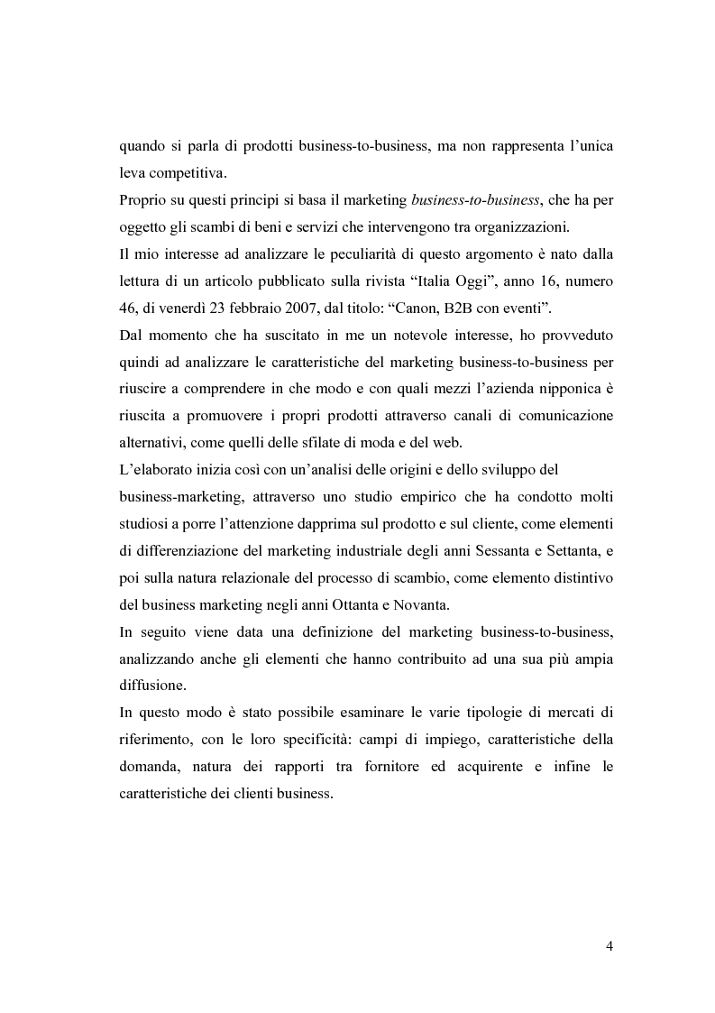 Anteprima della tesi: Le nuove frontiere del Marketing B2B, Pagina 2