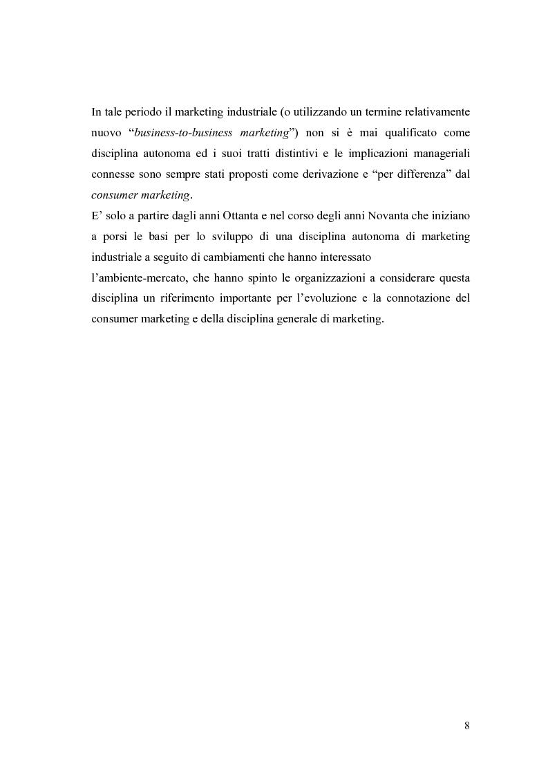 Anteprima della tesi: Le nuove frontiere del Marketing B2B, Pagina 5